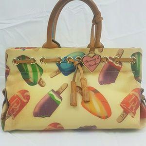 Dooney & Bourke canvas handbag popsicle